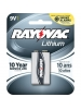 Rayovac R9VL-1 - Lithium Battery - 9V Size - 9 Volt - Lasts 10 Years - Ideal for Smoke Alarms